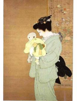 上村松園の美人画2