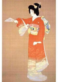 上村松園の美人画