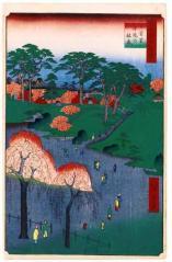 014日暮里寺院の林泉