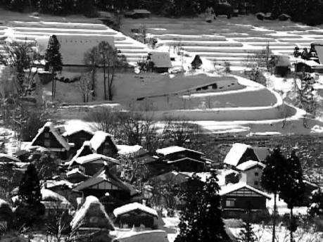 白川郷冬景色2-1