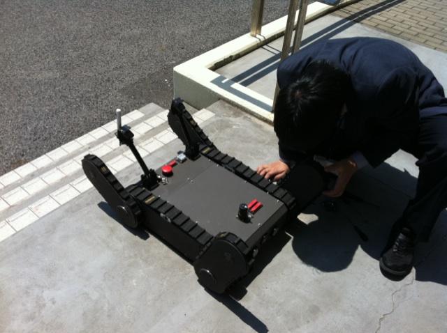 ロボット弓削