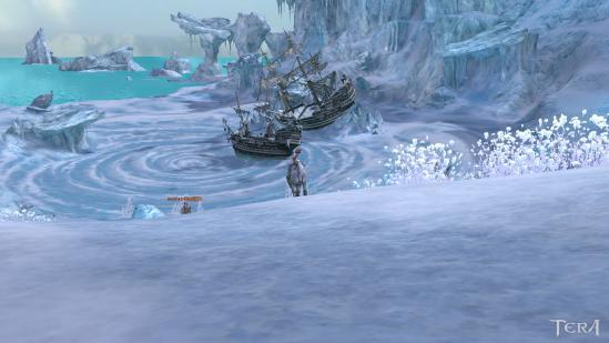 一面氷と雪の世界
