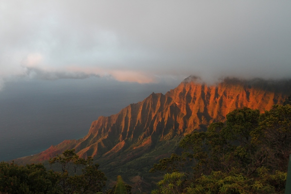 Kalalau at Sunset