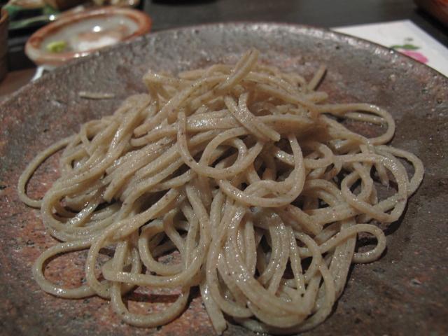 2009年大野産 十割蕎麦