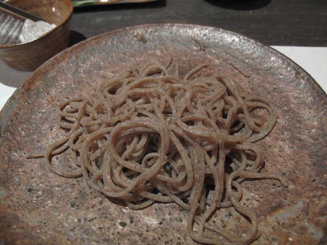 大野2008年の玄蕎麦引き二八蕎麦