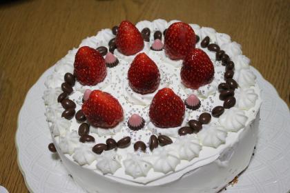 12月のケーキ 1
