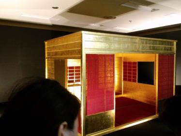 黄金の茶室1