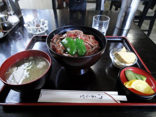 北斗星 ステーキ丼
