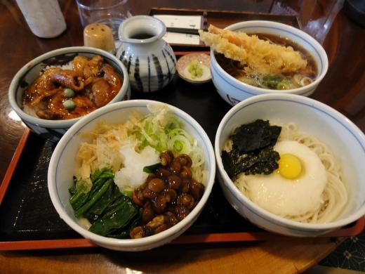 八松庵 3点セット&ミニ豚丼