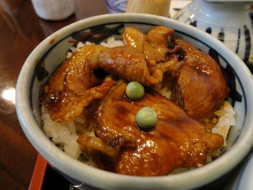 八松庵 ミニ豚丼
