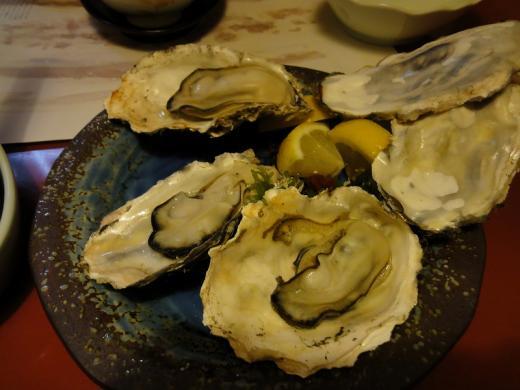 駒形屋 焼き牡蠣