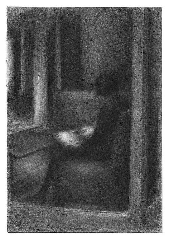 « Au Terminus » dessin d'anne Gorouben (Anne Gorouben)