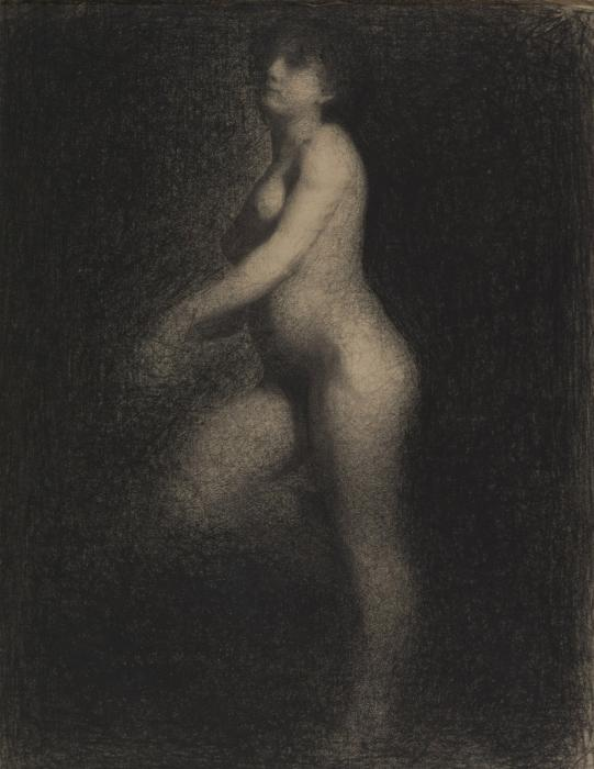 Georges Seurat - Figure dans l'espace