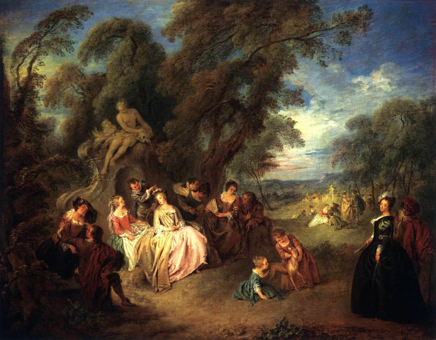 PATER Jean Baptiste Joseph Fête Champêtre 1730