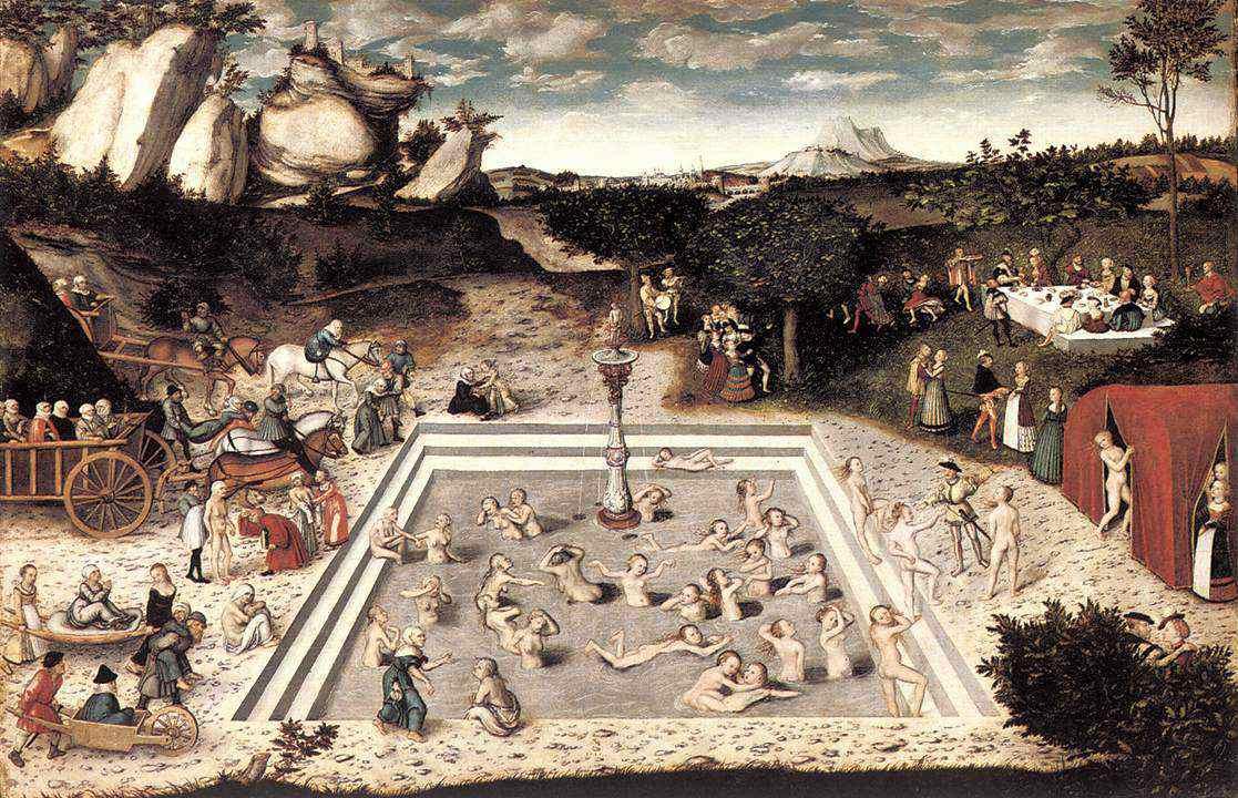 ルカス・クラナッハ《若返りの泉》
