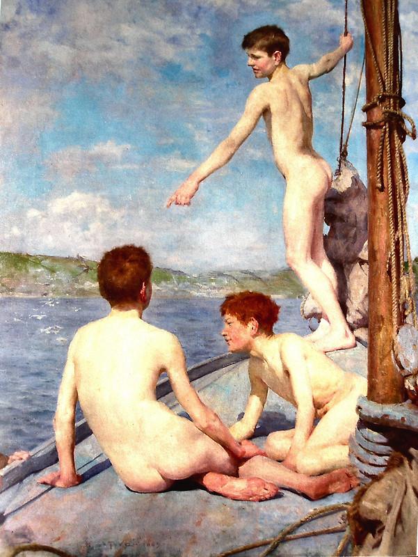水浴 1889