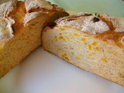 ライ麦ゆずパン