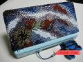 DSケースデコ 赤青グラデ2