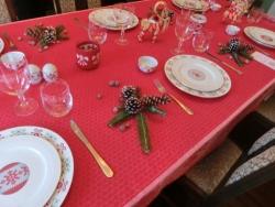 ブラフ18番館のテーブルコーディネート