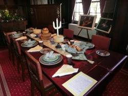 外交官の家のテーブルコーディネート