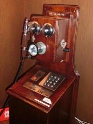 エリスマン邸:電話機