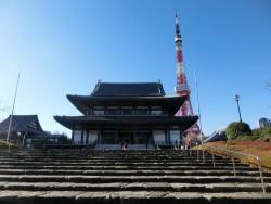 12月の増上寺