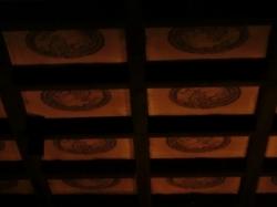 護国院本堂 天井画