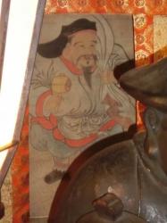 三代将軍家光公寄贈の大黒天画像