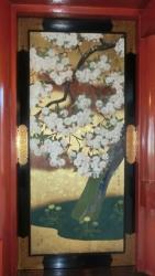 不忍池弁天堂:桜