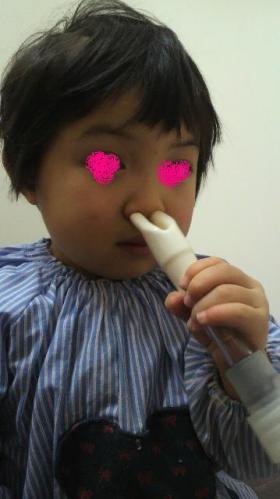 お鼻の吸引