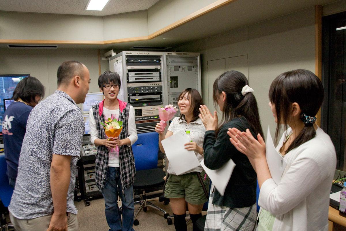 榎本温子さん、竹田美咲さん、佐藤拓也さん最終回収録