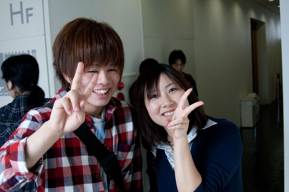 文化学院 秋の集い2010 演劇・声優 入江玲於奈くん・竹田美咲さん