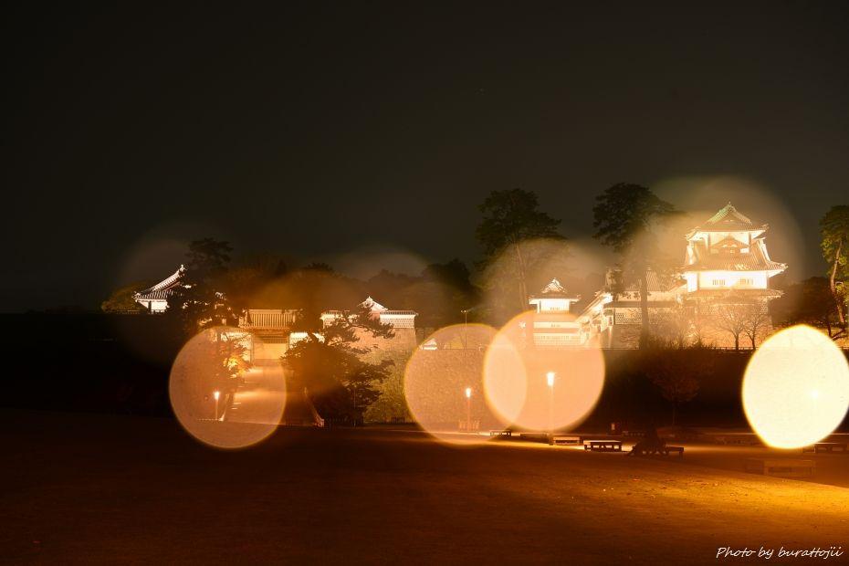 2014.11.22金沢城公園のライトアップ7