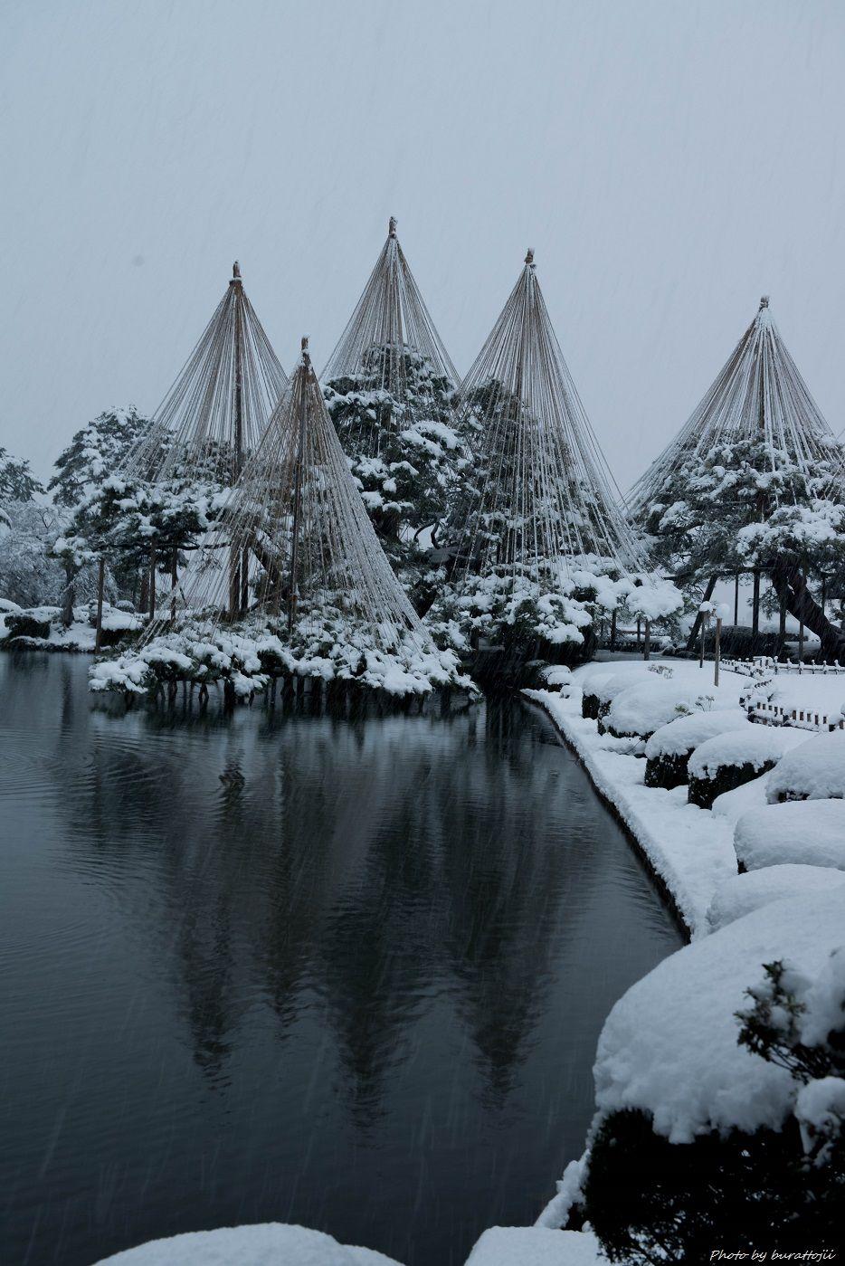 2014.12.06雪降る兼六園7