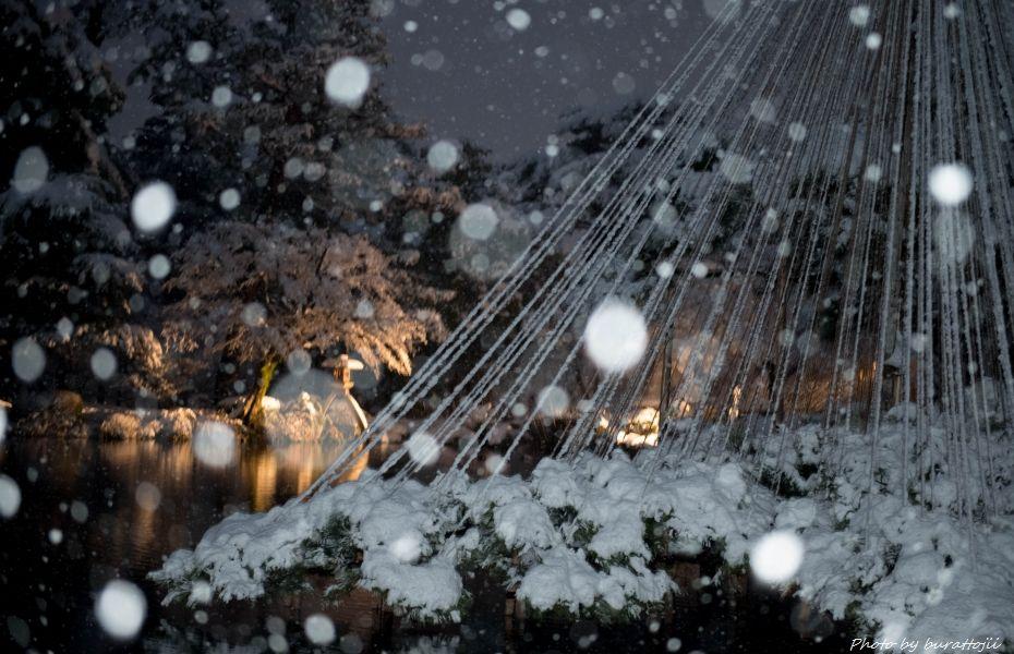 2014.12.06雪降る兼六園5
