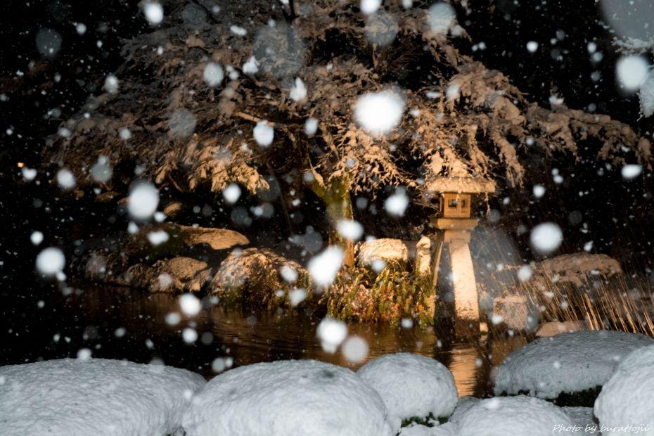 2014.12.06雪降る兼六園3