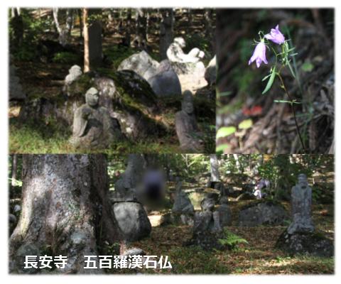 長安寺五百羅漢石仏
