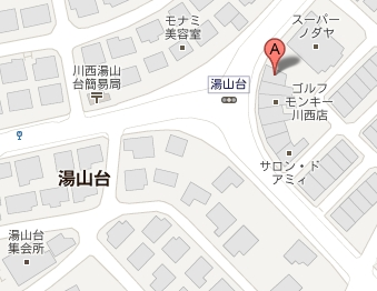 カフェ・レガーロ地図