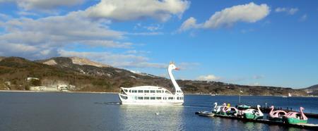 山中湖遊覧船