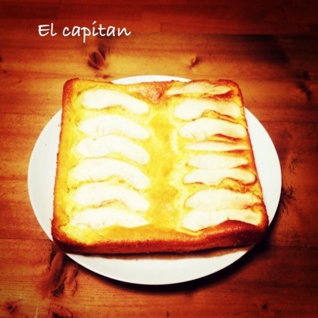 林檎ヨーグルトケーキ