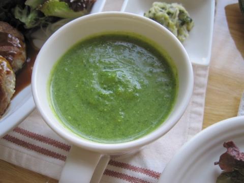 小松菜とカブのスープ
