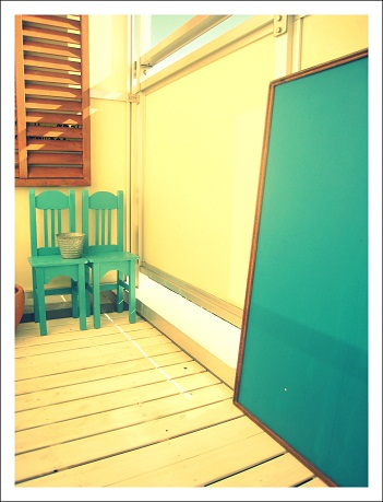 黒板 DIY 雑貨 ベランダガーデン トレリス S字フック