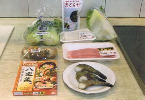 八宝菜材料