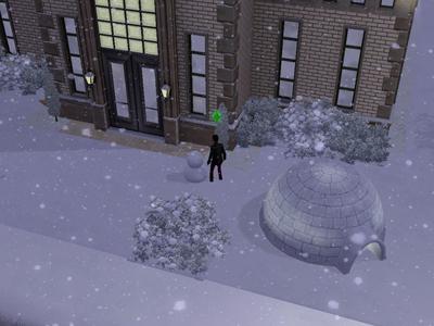 48日雪だるま