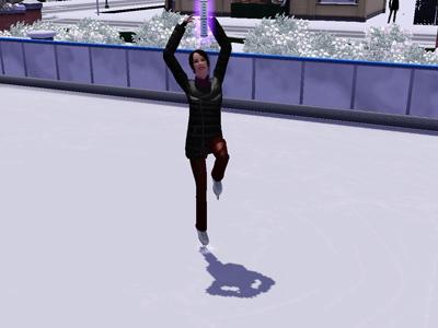 49日スケート2
