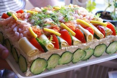 スモールゴストルタ(サンドイッチケーキ)