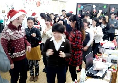 クリスマス ダンス