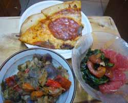 Cooking_PizzaSaladMinestroneChicken