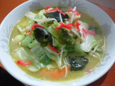 野菜ラーメン・味噌@権ちゃんチャンポンラーメン食堂さん