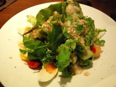 季節野菜のフレッシュサラダ~バーニャカウダーソース~@コバチ・デ・コバチーニ さん